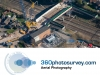 Aerial photographer infrastructure projects