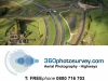 Highways aerial photographer