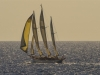 Three Masted sailing boat