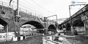 Camden Locks Development viaduct survey