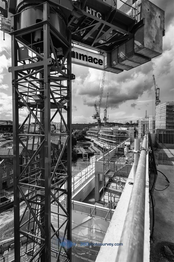 London Architectural Photographer 360photosurvey Undertakes Progress Photo Shoot For Mace Groups Camden Lock Village Development